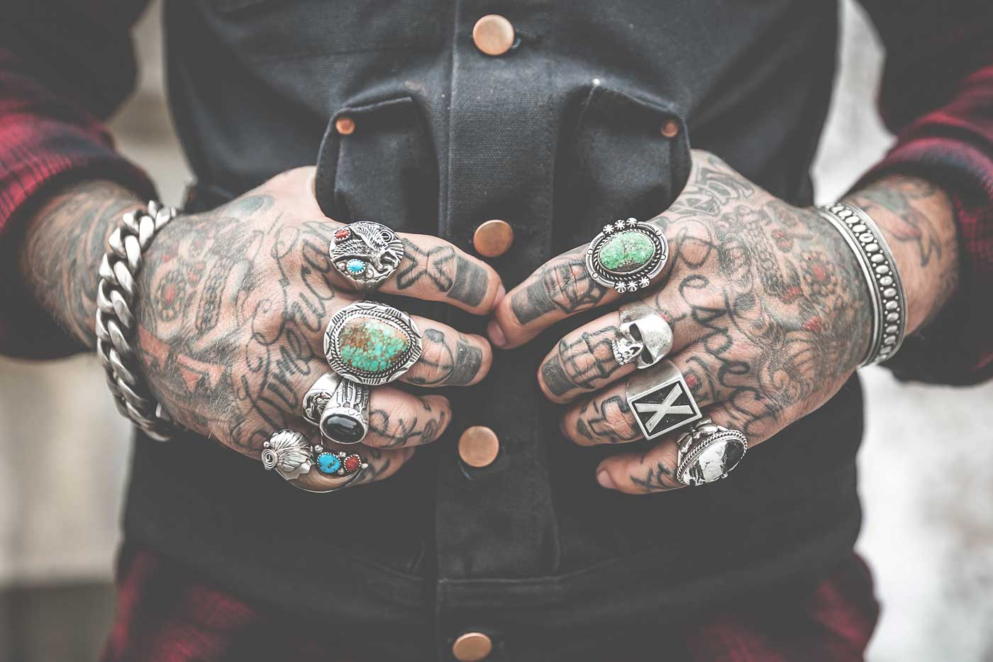 cool tattoo hands